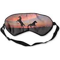 Sunset Horse 99% Eyeshade Blinders Sleeping Eye Patch Eye Mask Blindfold For Travel Insomnia Meditation preisvergleich bei billige-tabletten.eu