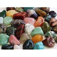 GeoFossils 1KG Assorted Tumble Stones (30-50mm XL) preisvergleich bei billige-tabletten.eu