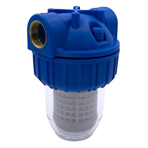 """VARIOSAN Vorfilter für Pumpen 11718, 1"""" IG, 8 bar Betriebsdruck, 3000 l/h Durchflussmenge, 0,06 mm Maschenweite"""