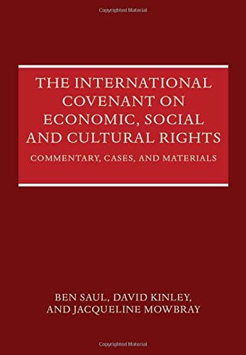 The International Covenant on Economic, Social and Cultural Rights: Commentary, Cases, and Materials by Ben Saul (2014-03-06)