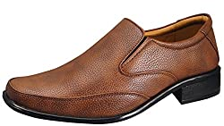 Action Synergy Mens Formal Shoes Tan RYD42