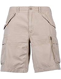 Ralph Lauren Homme A22HS061BR461ACK00 Beige Coton Shorts