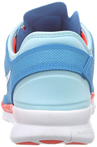 Nike Damen Wmns Nike Free 5.0 Tr Fit Hallenschuhe Blau (Blau;schwarz;pink)