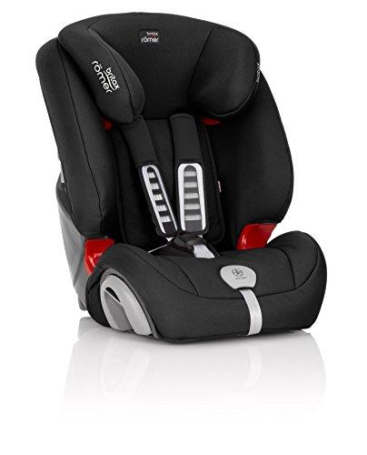 Britax Römer EVOLVA 123 PLUS Combination Car Seat, Group 1/2/3 (9 – 36 kg), Collection 2017, Cosmos Black