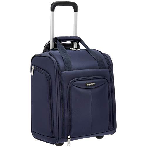 AmazonBasics - Koffer zum Verstauen unter dem Sitz, Marineblau