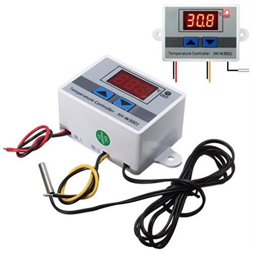 XH-W3001 220V 10A Digitalanzeige LED Temperaturregler mit Thermostatschalter Sonde -