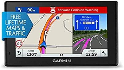 Garmin DriveAssist 51 LMT-S EU Navigationsgerät - 5 Zoll (12,7 cm) Multitouch Glasdisplay, lebenslang Kartenupdates & Verkehrsinfos, kameragestützte Fahrerhinweise, Smart Notifications