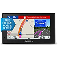 Garmin 010-01682-12 DriveAssist 51LMT-S 5 Inch Sat Nav with Built-In Dash Cam, Lifetime Map Updates for UK, Ireland and Full Europe, Free Live Traffic and Wi-Fi - Black