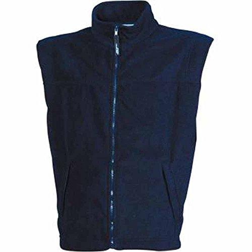 JAMES&NICHOLSON - veste gilet polaire sans manche bodywarmer JN045 - HOMME - Bleu Marine