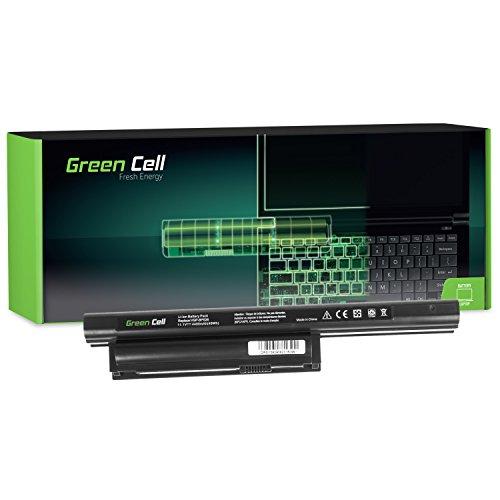 Green Cell® Standard Serie Laptop Akku für Sony Vaio SVE11113FXW (6 Zellen 4400mAh 11.1V Schwarz)