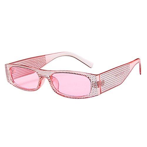 Battnot☀ Sonnenbrille für Damen Herren, Unisex Vintage Kleine Rahmen Mode Anti-UV Gläser Sonnenbrillen Schutzbrillen Männer Frauen Retro Billig Sunglasses Fashion Women Eyewear Ladies Eyeglasses