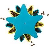 Outward Hound Kyjen 41005 Star Spinner Leckerchen-Spielzeug Hundespielzeuge Geruch Puzzle Trainingsspielzeug, Größe L, Blau