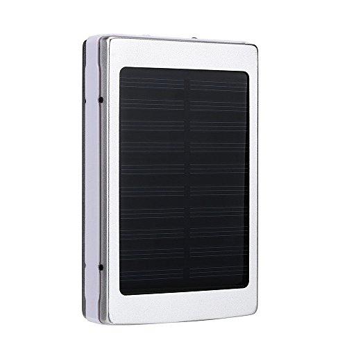 """ღღღღღPaquete incluido:  1 x cargador solar  1 x cargador USB cables  Vatiaje del panel solar: 1,5 W  Puerto de entrada: 5V-1A  Salida 1:5V-1A; salida 2:5V-2.1 a  Tiempo de carga: ~ 5-6 horas  Tamaño: 4,72 """"x 2,95"""" x 0,79 """" Peso: 7,5 oz"""