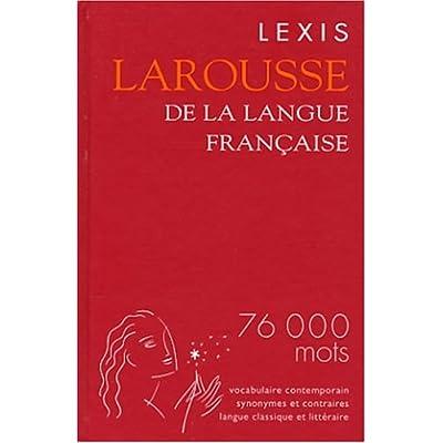 Lexis Larousse de la langue française