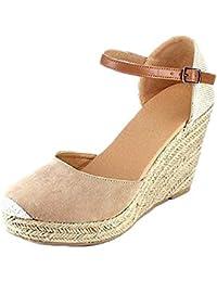 51b49781dfc Amazon.es  34 - Sandalias de vestir   Zapatos para mujer  Zapatos y ...
