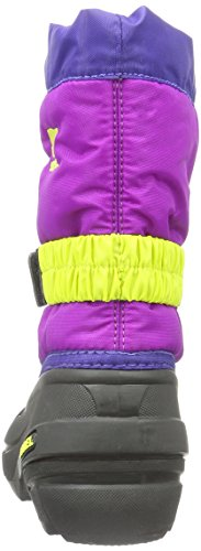 Sorel Childrens Flurry, Unisex-Kinder Schneestiefel Blau (Grape Juice, Bright Plum 484Grape Juice, Bright Plum 484)