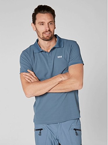 Helly Hansen Driftline Polo, Herren Blau (Blue Mirage)