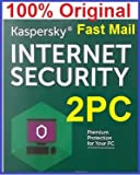#3: Kaspersky Internet Security 2017 Licence Key For 2 PC About 1 Year.