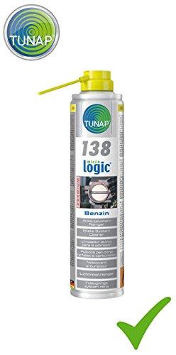 TUNAP MICROLOGIC PREMIUM 138 ANSAUGSYSTEM REINIGER BENZIN Drosselklappenreiniger 400 ml