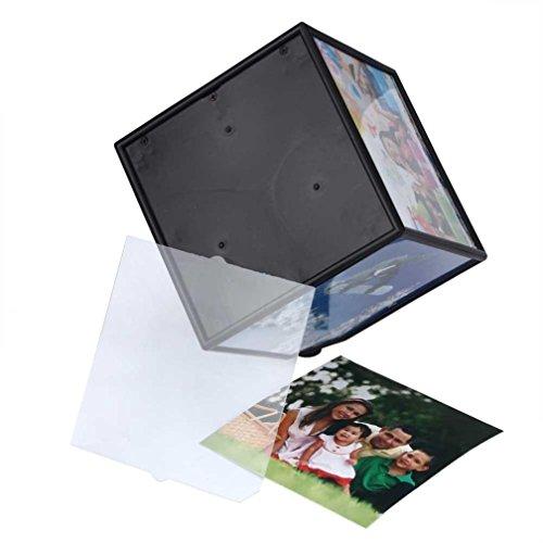 Koly Familia 360 para revalorizarse revoling de múltiples imágenes de fotos Marcos de Cubo Negro