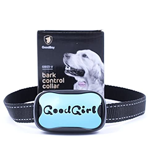 Dog Bark Collar for Small And Medium Dogs Safe Vibration Training Collar! Control Your Pet Excessive Barking With This Simple Anti Bark Training Tool! (GoodGirl,