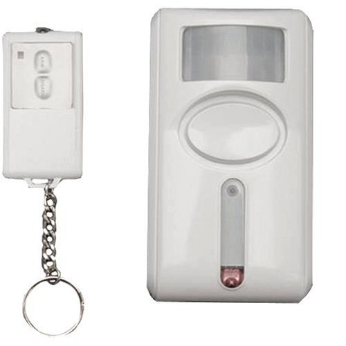GE Personal Security Motion-Sensing Alarm with Keychain Remote by GE -