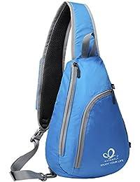 waterfly coraje Lifu nktionale brazo–Bolso bandolera para smartphones para correr senderismo ciclismo y camping, Blau - blau