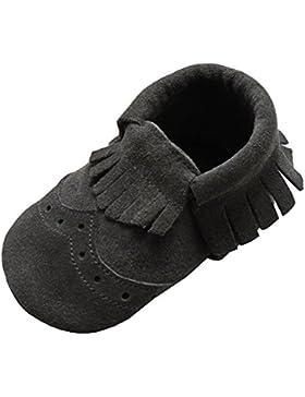 Mejale Weiche Sohle Leder Babyschuhe Lauflernschuhe Krabbelschuhe Kleinkind Kinderschuhe Hausschuhe
