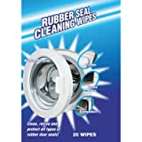 Washing Machine Rubber Seal Cleaning Wipes x 20