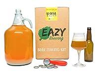 Ce kit de brassage 5 litres vous permettra de brasser une bière de type Blonde française et dispose de tout le matériel spécifique dont vous aurez besoin pour le faire. Materiel compris dans ce kit : Dame-jeanne en verre de 5 L, Sac de brassage en ny...