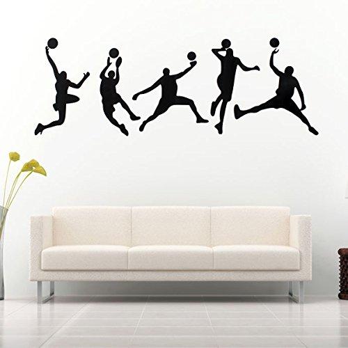 Bluelover 45X126CM Spielen Basketball Aufkleber Abnehmbare Sport Aufkleber Home Zimmer Dekor Wand Wandaufkleber