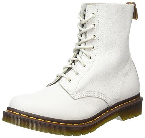 Dr. Martens Damen Pascal Stiefel, Weiß (White), 37 EU (1460 Original Boot Martens Womens)