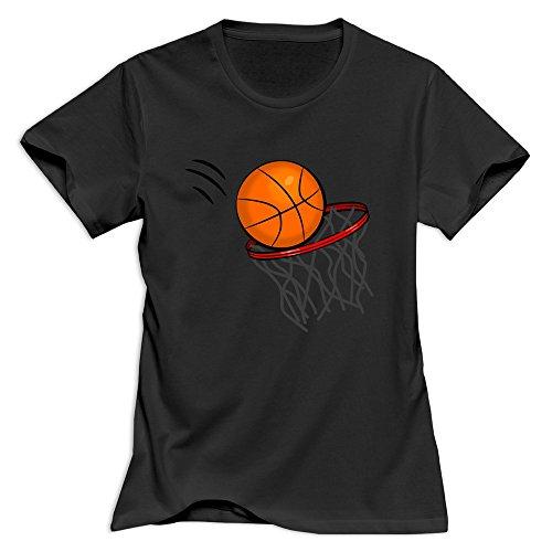 Kst Frauen Basketball T-Shirt 100% Baumwolle Geek Gr. 46, - Mls-led