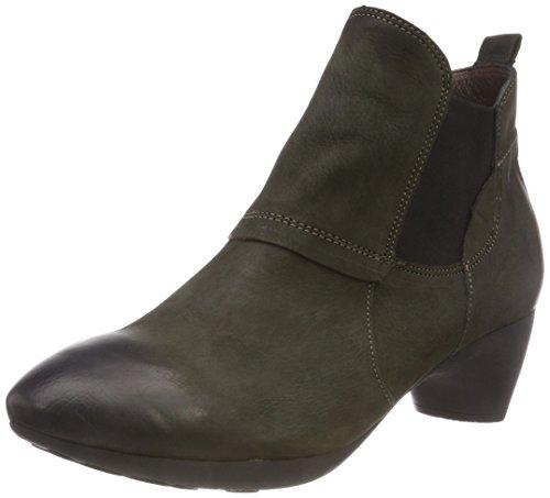 Think! Damen NIAH_383158 Chelsea Boots, Grün (62 Oliv), 39 EU