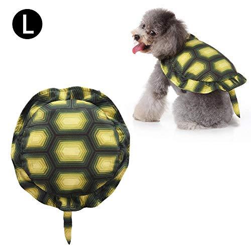Destinely Turtle Shell Pet Rucksack, Turtle Pet Rucksack Hundekostüm Halloween Turtle Dress Up Geeignet für Party Shooting Urlaub - Hunde Turtle Kostüm