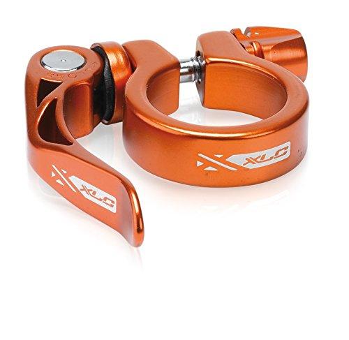 XLC Unisex- Erwachsene Sattelstützklemmring Sattelstütz-Klemmring PC-L04, Orange, One Size