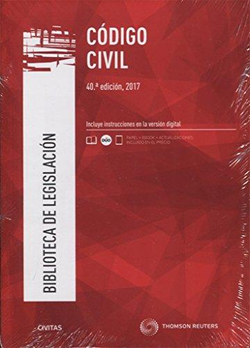 Código Civil (Papel + e-book) (Biblioteca de Legislación) por José Antonio Pajares Giménez