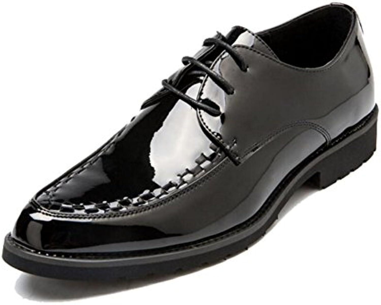 Zapatos de Cuero de los Hombres Primavera/Otoño/Invierno Hombres Acentuados/Moda/Low-Top/Oficina/Vestido de Fiesta...