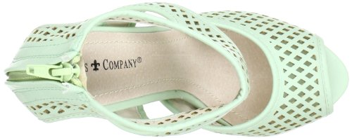 Friis & Company  Mel - Pistacie, Sandales pour femme Vert - Grün (Pistace)