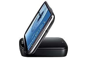 Samsung Original Akkuladestation mit Telefonständerfunktion und Ersatzakku EB-H1G6LLUGSTD (kompatibel mit Galaxy S3 / S3 LTE) in schwarz