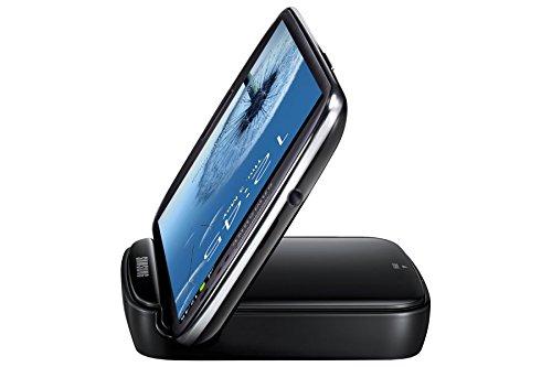 Samsung Original Akkuladestation mit Telefonständerfunktion und Ersatzakku EB-H1G6LLUGSTD (kompatibel mit Galaxy S3 / S3 LTE) in schwarz (Samsung Galaxy S-ladeanschluss)