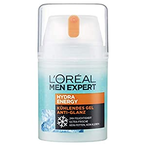 L'Oreal Men Expert – Quenching Hydra Energetic Maxi – Cuidado Anti-Fatiga Hombres – 50 ml