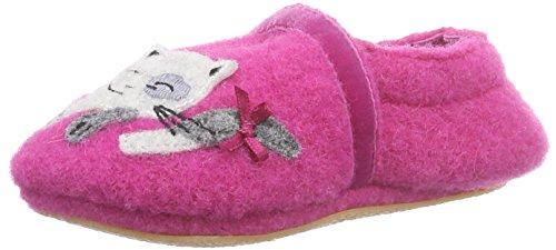 Giesswein Biessenhofen Baby Mädchen Krabbelschuhe Pink (himbeer / 364)