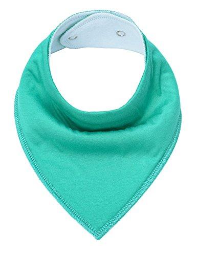 Letuwj - Algodón Suaves Bebé Babero Lactancia Verde