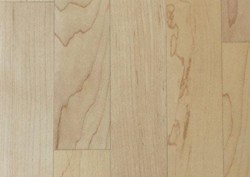 PVC-Boden Holzdielenoptik Mittelbraun mit Vliesr/ücken| Vinylboden 2m Breite /& 2,5m L/änge robuster Fu/ßbodenheizung geeignet rutschhemmender Fu/ßboden-Belag Platten strapazierf/ähig /& pflegeleicht