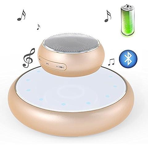 Pershoo Portatile Mini Wireless Bluetooth senza fili 3D altoparlante stereo