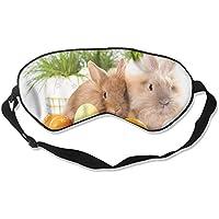 Cute Easter Rabbit 99% Eyeshade Blinders Sleeping Eye Patch Eye Mask Blindfold For Travel Insomnia Meditation preisvergleich bei billige-tabletten.eu