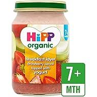 Hipp Desayuno Orgánico Fresa Dúo Muesli 160G - Paquete de 6