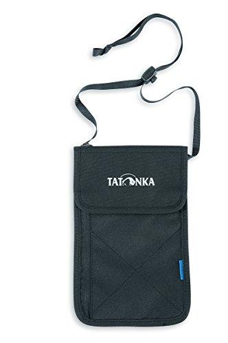 Tatonka, Portafoglio da appendere al collo, Nero (Black), 20 x 14,5 x 1,5 cm