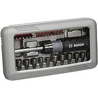 Bosch 46tlg. Schraubendreher Set (Zubehör für Elektrowerkzeuge und Handschrauber) farblich sortiert